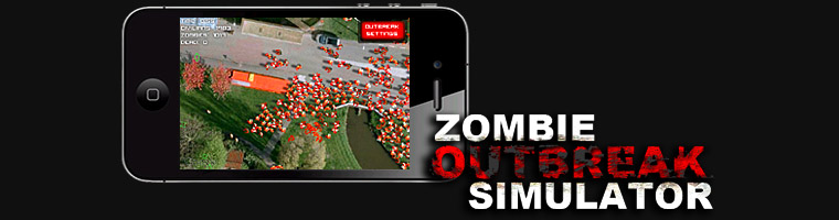 Zombie Outbreak Simulator on iPhone, iPad and iPod Touch